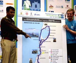 Route map of Standard Chartered Mumbai Marathon 2015