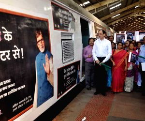 Tuberculosis awareness train flagged-off from Churchgate