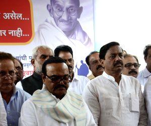 NCP homage Mahatma Gandhi's death anniversary