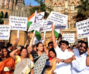 NCP demonstration against Rail Budget 2015-16