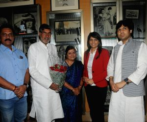 Kailash Satyarthi meets Dr. Sunita Dube