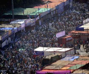 Tribute to Baba Saheb Dr. BR Ambedkar 'Mahaparinirvan Diwas' at Shivaji Park
