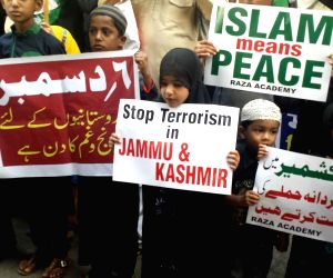 Demonstration against Babri Masjid demolition