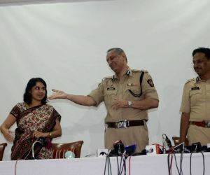 Mumbai Police Commissioner's press conference
