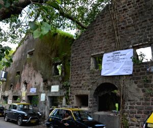Mumbai Police put up banner at Sahkti mills compound declaring unsafe zone