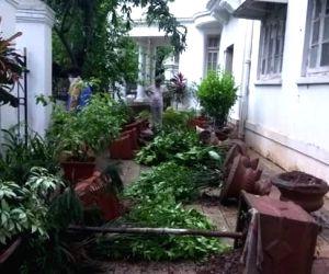 Vandalism of Ambedkar's Mumbai home sparks political furore