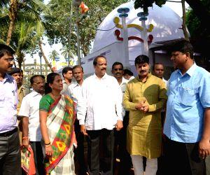 Preparations for Ambedkar's death anniversary underway at Chaitya Bhoomi