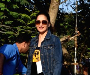 What is Madhuri Dixit doing in 'Total Dhamaal'?