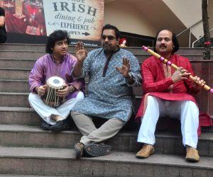 Announcement of Swaranjali music festival 2015