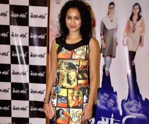 Music launch of Marathi film Candle March