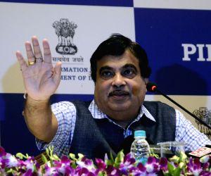 Nitin Gadkari's addresses a press conference