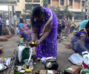 Pongal celebrations at Dharavi