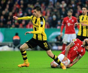 GERMANY-MUNICH-SOCCER-GERMAN CUP-BAYERN MUNICH VS BORUSSIA DORTMUND