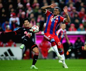Munich (Germany): German first division Bundesliga football match between Bayern Munich and Leverkusen