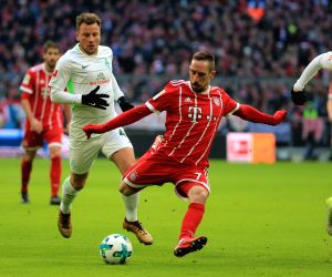 GERMANY MUNICH SOCCER BUNDESLIGA BAYERN MUNICH VS BREMEN