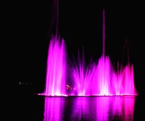 Dal Lake - Musical Fountain And Laser Show