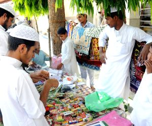 Muslims busy buying various items