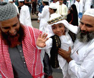Muslims celebrate Eid ul-Fitr at Red Road