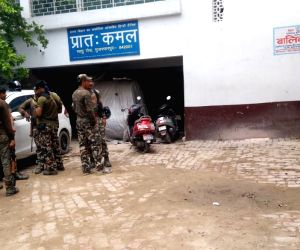 Muzaffarpur: Central Bureau of Investigation (CBI) officials conduct search operation at the shelter home in Bihar's Muzaffarpur district where 34 minor girls were raped; on Aug 11, 2018. The shelter home in Muzaffarpur was sealed by the district adm