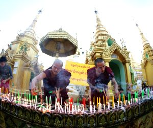 MYANMAR YANG0N THADINGYUT FESTIVAL