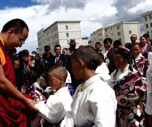 CHINA TIBET NAGQU LAMA BAINQEN CHILD WELFARE