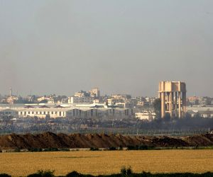 ISRAEL GAZA BORDER NAHAL OZ CLASHES