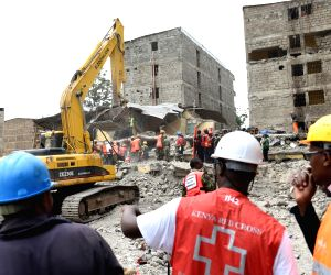KENYA NAIROBI ACCIDENT BUILDING COLLAPSE
