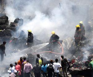 KENYA NAIROBI MARKET FIRE