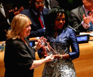 UN-NEW YORK-MANDELA PRIZE
