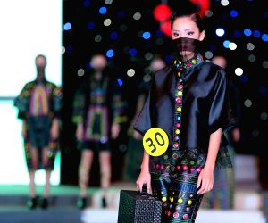 Nanchang (China): Runhua Prize Fashion Design and Model Contest in Jiangxi Inistitute of Fashion Technology