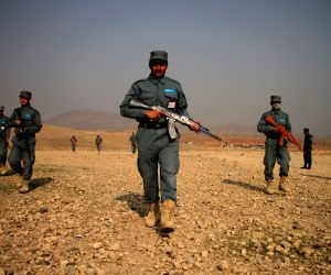 AFGHANISTAN NANGARHAR MILITARY TRAINING