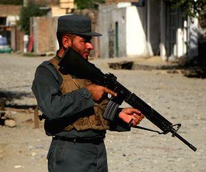 AFGHANISTAN NANGARHAR SECURITY CHECKPOINT