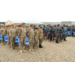 AFGHANISTAN NANGARHAR POLICE GRADUATION