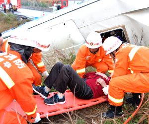 CHINA YUNNAN COACH BUS ACCIDENT