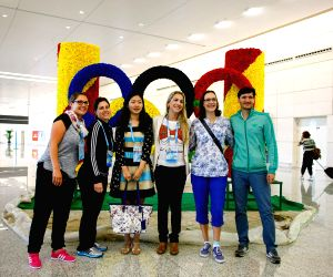 Officials arrived for the 2nd Summer Youth Olympic Games