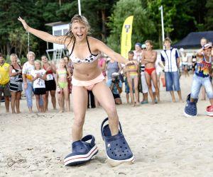 Summer beach game