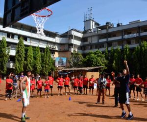 NBA slam dunk in Mumbai