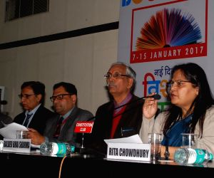 World Book Fair-2017 - press conference
