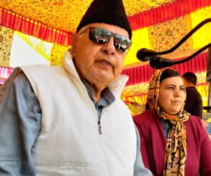 National Conference President Farooq Abdullah. (Photo: IANS)