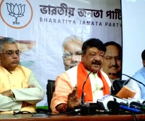 Bjp press meet in Kolkata