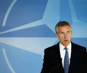 BELGIUM-BRUSSELS-NATO DEFENCE MEETING