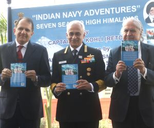 "Indian Navy's Adventure - Seven Seas To High Himalayas"" - book launch"