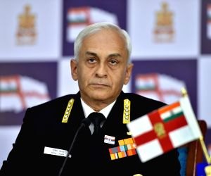 Indian Navy chief to present paper at US defence symposium