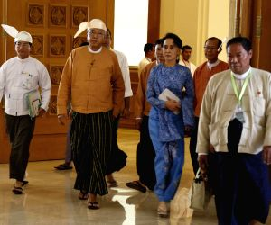 MYANMAR-NAY PYI TAW-UNION PARLIAMENT