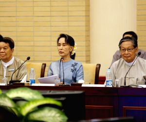 MYANMAR-NAY PYI TAW-PEACE CONFERENCE