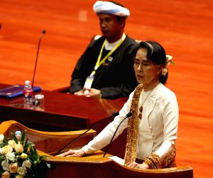 MYANMAR-NAY PYI TAW-21ST CENTURY PANGLONG PEACE CONFERENCE