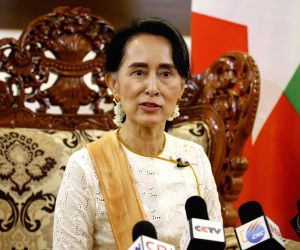 MYANMAR-NAY PYI TAW-AUNG SAN SUU KYI-CHINA-INTERVIEW