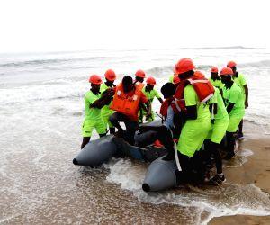 Tsunami rescue drill - NDRF