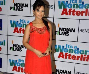 Neetu Chandra at It's Wonderful Afterlife premiere at PVR, Juhu.