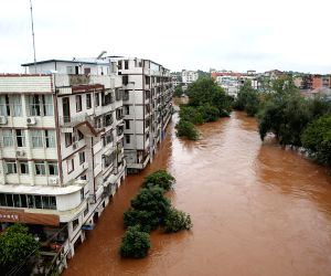 CHINA SICHUAN HEAVY RAINFALL